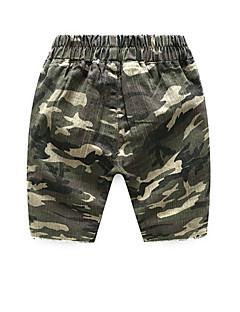billige Drengebukser-Børn Drenge Farveblok Shorts