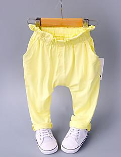 billige Babyunderdele-Baby Unisex Sødt Ensfarvet Bukser