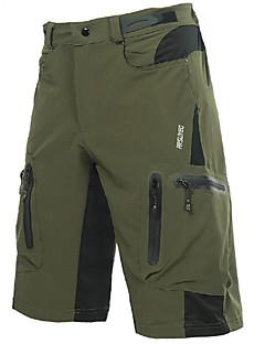 billige Sykkelklær-Arsuxeo Herre Sykkelshorts - Svart Marineblå Mørkegrønn Sykkel Shorts MTB-shorts, Fort Tørring, Pustende