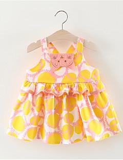 billige Babykjoler-Baby Pige Frugt Uden ærmer Kjole