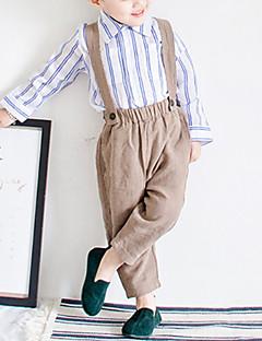 billige Drengebukser-Baby Drenge Ensfarvet Overall og jumpsuit
