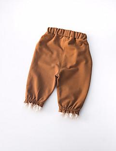 billige Babyunderdele-Baby Pige Aktiv Farveblok Bukser