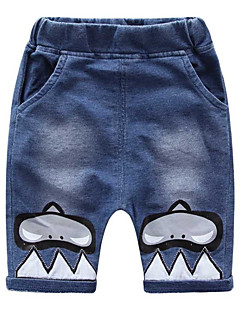billige Jeans til piger-Børn / Baby Unisex Trykt mønster Jeans