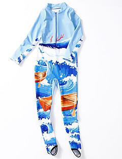 billige Badetøj til drenge-Børn Drenge Trykt mønster / Farveblok Badetøj
