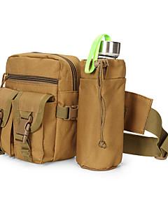 billiga Ryggsäckar och väskor-8 L Verktygsväskor / Magväskor - Snabb tork, Bärbar Camping Nylon Khaki grön