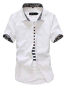 cheap Men's Clothing-Men's Basic Shirt - Color Block