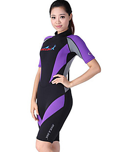 a1a1ed50c3 Dive Sail Women s Shorty Wetsuit 1.5mm Neoprene Diving Suit Waterproof  Thermal   Warm Breathable Short Sleeve Back Zip - Swimming Diving Surfing    Quick Dry ...