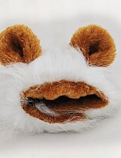 billiga Hundkläder-Hund / Kaniner / Katt Jumpsuits / Klänningar Hundkläder Björn Brun / Svart / Leopard Pälsimitation Kostym För husdjur Uppvärmning