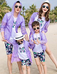 billige Sett med familieklær-Familie Look Blomstret Langermet Bluse
