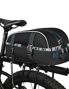 billiga Cykling-ROSWHEEL 8 L Väskor till pakethållaren Vattentät, Reflexremsa Cykelväska 600D Polyester Cykelväska Pyöräilylaukku Cykling / Cykel