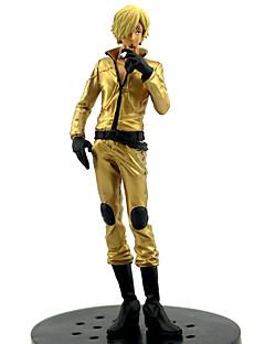 billige Anime cosplay-Anime Action Figurer Inspirert av One Piece Sanji PVC 16 cm CM Modell Leker Dukke Alle