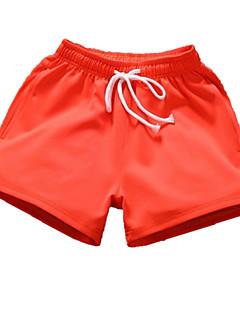 billige Herremote og klær-Herre Grunnleggende Shorts Bukser Ensfarget