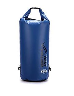 billige Tørposer & Tørbokse-50 L Vandtæt tørtaske Letvægt, Regn-sikker, Påførelig for Svømning / Udendørs Træning