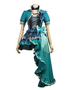 """billige Anime cosplay-Inspirert av BanG Dream Cosplay Anime  """"Cosplay-kostymer"""" Cosplay Klær Annen Kortermet Frakk / Skjørte / Kjole Til Unisex Halloween-kostymer"""