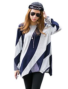 billige Kvinde Toppe-Dame - Geometrisk Trykt mønster Gade T-shirt