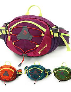 billiga Ryggsäckar och väskor-8 L Midjeväska - Regnsäker, Bärbar Utomhus Resor, Fitness, Jogging Nylon Purpur, Grön, Blå