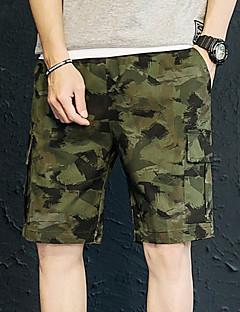 billige Herrebukser og -shorts-Herre Militær Shorts Bukser Kamuflasje
