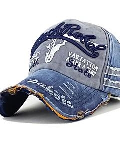 billige Trendy hatter-Herre Vintage / Kontor Baseballcaps Trykt mønster / Lapper