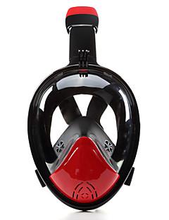 baratos Total Promoção Limpa Estoque-Máscaras de mergulho / Máscara de Snorkel Anti-Nevoeiro, Máscaras Faciais, Embaixo da agua Janela Única - Natação, Mergulho Silicone -