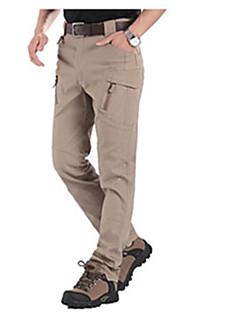 tanie Turystyczne spodnie i szorty-Męskie Spodnie turystyczne Na wolnym powietrzu Odporność na wiatr, Szybkie wysychanie, Oddychalność Jesień, Lato, Zima Spandeks Spodnie Ćwiczenia na zewnątrz L XL XXL