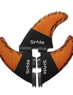 Χαμηλού Κόστους Surfing and Bodyboarding-Srfda Φινάκια Υαλοβάμβακας Γρηγορη Απελευθέρωση - Σανίδα του σερφ με κουπί (SUP) / Μακριές σανίδες / Σανίδες Σέρφινγκ 3 pcs