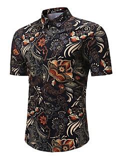 Χαμηλού Κόστους Ανδρική Μόδα & Ρούχα-Ανδρικά Πουκάμισο Βασικό Φλοράλ