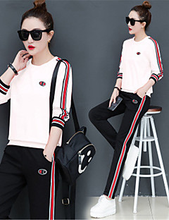 Women s Patchwork   Pocket Tracksuit   Yoga Suit - Black, Yellow, Red  Sports Stripe Spandex Hoodie   Tights Yoga, Fitness, Gym Long Sleeve  Activewear ... caa532eb0f7