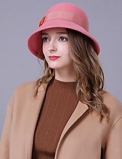 billige Trendy hatter-Dame Fest / Ferie Bøttehatt - Sløyfe, Fargeblokk