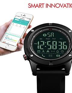 billige Digitalure-SKMEI Herre Sportsur Digital Watch Digital 50 m Vandafvisende Bluetooth Stopur Silikone Bånd Digital Luksus Afslappet Sort - Sort / Selvlysende i mørke