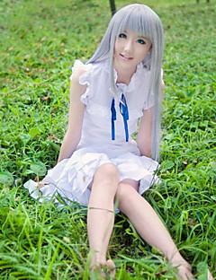 """billige Anime Kostymer-Inspirert av Cosplay Honma Meiko Anime  """"Cosplay-kostymer"""" Kjoler Helfarge Ermeløs Kjole Til Dame"""