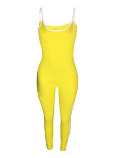 billige Jumpsuits og sparkebukser til damer-Dame Ut på byen / Strand Tynn Kjeledresser - Ensfarget Med stropper Harem