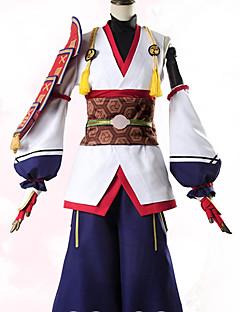 """billige Anime cosplay-Inspirert av Fate / zero Archer / Tomoe Gozen Anime  """"Cosplay-kostymer"""" Cosplay Klær Blomster / botanikk Frakk / Bukser / Mer Tilbehør Til Dame Halloween-kostymer"""