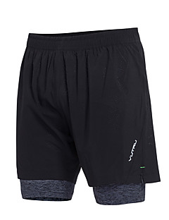billige Løbetøj-Herre Lomme Løbeshorts Sport Farveblok Shorts Yoga, Fitness, Træning Sportstøj Hurtigtørrende, Åndbart Høj Elasticitet Tynde