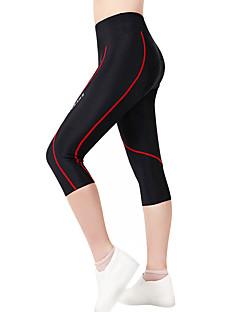 billige Sykkelklær-WOSAWE Dame / Unisex Fôrede sykkelshorts Sykkel Shorts / 3/4 Tights / Bunner 3D Pute, Fort Tørring, Anatomisk design Polyester, Spandex
