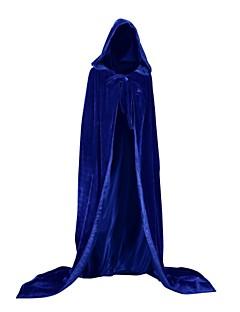 billige Voksenkostymer-Trollmann / heks Vampyrer Jakke Cosplay Kostumer Party-kostyme Kostume Julkjole Unisex Voksen Voksne Dekke Opp Halloween Jul Halloween Karneval Festival / høytid Drakter Grønn / Blå / Mørkegrønn