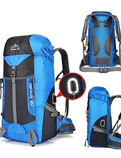 billiga Ryggsäckar och väskor-45 L Ryggsäckar - Regnsäker, 3D Tablett, Anatomisk design Utomhus Fiske, Camping, Cykel Nylon Röd, Blå, Vinröd