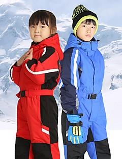 billiga Skid- och snowboardkläder-Pojkar / Flickor Skiddräkt Vindtät, Vattentät, Håller värmen Skidåkning / Camping / Snowboardåkning POLY Klädesset Skidkläder