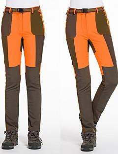 baratos Calças e Shorts para Trilhas-Mulheres Calças de Trilha Ao ar livre A Prova de Vento, Respirabilidade, Vestível Inverno Calças Esqui / Equitação / Campismo / Micro-Elástica / Resistente a UV