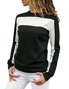 billige Topper til damer-T-skjorte Dame - Grafisk, Lapper Grunnleggende