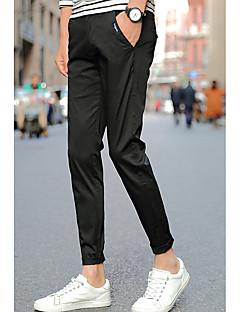 billige Herrebukser og -shorts-menns bomulls chinosbukser - solid farget