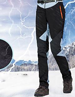 billiga Skid- och snowboardkläder-Dam Skidbyxor Vattentät, Håller värmen, Vattentät dragkedja Skidåkning / Snowboardåkning / Vintersport 100 % bomullschenilj, polyster Snö Bibbyxor Skidkläder