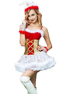 billige Nattøy til damer-Dame Sexy Dress Nattøy - Ensfarget, Blonde Jul