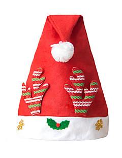 billige julen Kostymer-Cosplay Kostumer Høytidssmykker Santa Clothe Herre Dame Gutt Barne Voksne Jul Jul Nytt År Festival / høytid Ikke Vevet Drakter Rød / Gylden Ferie