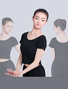tanie Stroje baletowe-Balet Topy Damskie Szkolenie / Spektakl Elastyna / Lycra Gore Krótki rękaw Top