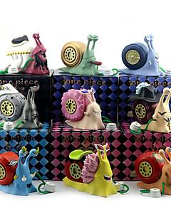 baratos Cosplay Anime-Figuras de Ação Anime Inspirado por One Piece Nami Usopp PVC 9 cm CM modelo Brinquedos Boneca de Brinquedo
