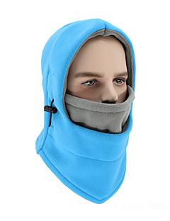 billige Sykkelklær-Ansiktsmaske Vår / Høst / Vinter Vindtett / Hold Varm / Fukt Wicking Utendørs Trening / Alpin / Sykkel Alle / Unisex Polyester / Terylene Ensfarget / Mikroelastisk