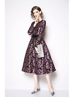 billige Kjoler til spesielle anledninger-A-linje Besmykket Telang Jersey Kjole med Belte / bånd av