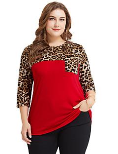 billige Topper til damer-T-skjorte Dame - Leopard Gatemote