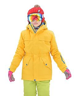 billiga Skid- och snowboardkläder-MARSNOW® Pojkar / Flickor Skidjacka Vindtät, Vattentät, Håller värmen Camping / Vintersport Bomull Vindjackor / Varma överdelar / Överdelar Skidkläder