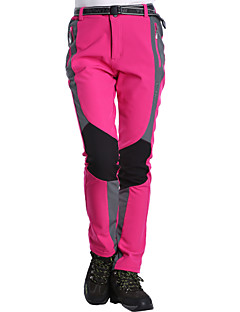 Women s Hiking Pants Outdoor Windproof Breathability Wearable Winter  Spandex Softshell Pants   Trousers Hiking Outdoor Exercise Camping Fuchsia  Blue L XL ... a2734b12c
